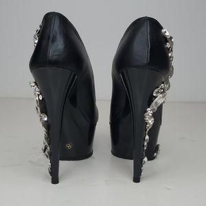GASOLINE GLAMOUR Shoes - GASOLINE GLAMOUR SWAROVSKI RHINESTONE SBOES